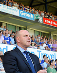 Ipswich Town 1 Blackburn Rovers 1, 18/08/2012. Portman Road, Championship. Blackburn visit Suffolk for their first game back in the Championship. Steve Kean in the technical area. Photo by Simon Gill.