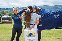 NZL-Kisity Bale and Kelaray Gifted. Golden Horse Products CCN95. Final-1st. 2021 NZL-Clevedon Horse Trial. Sunday 17 January. Copyright Photo: Libby Law Photography