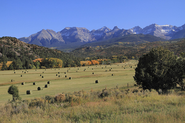 Mount Sneffels in the San Juan Mountains, Mountains, near Telluride, Colorado, USA.