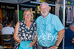 Enjoying the evening in the Crannog on Saturday, l to r: Margaret and Paul Neligan from Tralee