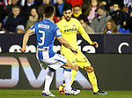 CD Leganes' Unai Bustinza (l) and Villarreal CF's Roberto Soriano during La Liga match. December 3,2016. (ALTERPHOTOS/Acero)