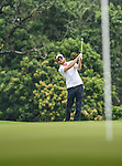 Players in action during the Mission Hills Celebrity Pro-Am on 25 October 2014, in Haikou, China. Photo by Victor Fraile / Power Sport Images