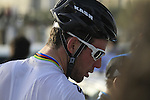 World Champion Mark Cavendish (GBR) Sky Procycling at the finish of the 1st Stage of the 2012 Tour of Qatar running from Umm Slal Mohammed to Doha Golf Club, Doha, Qatar, 5th February 2012 (Photo Eoin Clarke/Newsfile)