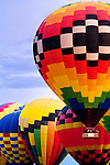 Colorful balloons at Albuquerque's Balloon Fiesta