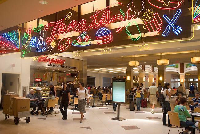 Food Court, Aventura Mall, Miami, Florida
