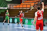 n08Robert Weber beim Spiel in der Handball Bundesliga, TSV GWD Minden - HSG Nordhorn-Lingen.<br /> <br /> Foto © PIX-Sportfotos *** Foto ist honorarpflichtig! *** Auf Anfrage in hoeherer Qualitaet/Aufloesung. Belegexemplar erbeten. Veroeffentlichung ausschliesslich fuer journalistisch-publizistische Zwecke. For editorial use only.