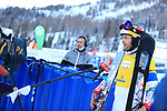 FIS Snowboard World Cup - Covid-19 Outbreak  Parallel Slalom Finals event on 17/12/2020 in Carezza, Italy. Roland Fischnaller (ITA)