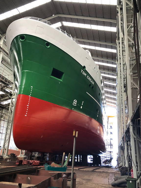 Spanish shipyard Astilleros Armon Vigo S.A. were awarded the contract to build Ireland's new state-of-the-art marine research vessel