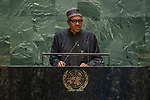 General Assembly Seventy-fourth session: Opening of the general debate<br /> AM<br /> <br /> NIGERIA