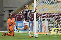 Rio de Janeiro (RJ), 25/08/2020 - Fluminense-Figueirense -  Nenê  jogador do Fluminense comemora seu gol,durante partida contra o Figueirense,válida pela 3ª fase da Copa do Brasil,realizada no Estádio Jornalista Mário Filho (Maracanã), na zona norte do Rio de Janeiro,nesta terça (25).
