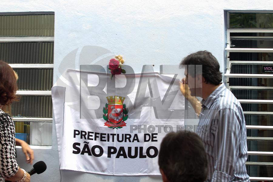 SAO PAULO, SP, 09.03.2015 - COMEMORACAO 25 ANOS CASA ELIANE GRAMMOND - O prefeito Fernanod haddad durante Comemoração dos 25 Anos da Casa Eliane de Grammont na regiao sul da cidade de Sao Paulo nesta segunda-feira, 09. (Foto: Carlos Pessuto / Brazil Photo Press).