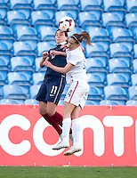 Faro, Portugal - March 11, 2015: The USWNT defeated France 2-0 to win the Algarve Cup.