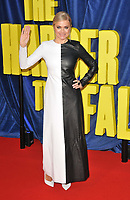 """Eva Lanska at the 65th BFI London Film Festival """"The Harder They Fall"""" opening gala,Royal Festival Hall, Belvedere Road, on Wednesday 06th October 2021, in London, England, UK. <br /> CAP/CAN<br /> ©CAN/Capital Pictures"""