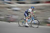 Svein Tuft (CAN/Orica-GreenEDGE) over the top of the Col du Tourmalet (HC/2115m/17km/7.3%)<br /> <br /> st11: Pau - Cauterets (188km)<br /> 2015 Tour de France