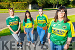 Staff from Debenhams in Tralee going to Dublin  on Saturday for the National protest.<br /> Front right: Geraldine O'Regan.<br /> Back L to r: Niobe O'Brien, Trish O'Sullivan and Amy Hourigan.