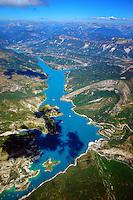 Lac de Castellon: EUROPA,  FRANKREICH, ALPES MARITIMES 10.08.2013: Lac de Castellon