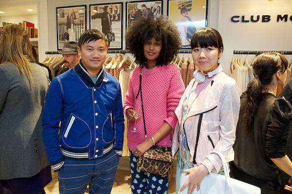Tommy Ton, Julia Sarr-Jamois and Susie Bubble