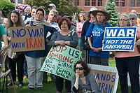 No war with Iran 6.1.19