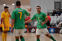 Jonathan Steele of Central during the Men's Futsal SuperLeague, Central Futsal v Southern United Futsal at ASB Sports Centre, Wellington on Saturday 31 October 2020.<br /> Copyright photo: Masanori Udagawa /  www.photosport.nz