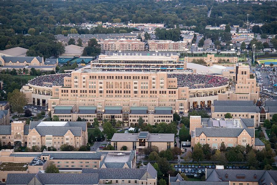April 17, 2018; Duncan Student Center. (Photo by Barbara Johnston/University of Notre Dame)