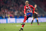 Antoine Griezmann of Atletico de Madrid clicks the ball during the UEFA Champions League 2017-18 match between Atletico de Madrid and AS Roma at Wanda Metropolitano on 22 November 2017 in Madrid, Spain. Photo by Diego Gonzalez / Power Sport Images