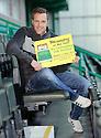 Hibernian player Alan Maybury at today's press conference at Easter Road  ...