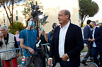 The president of Lazio Nicola Zingaretti  during the closing of the electoral campaign to elect the new mayor of Rome, in San Basilio, a neighborhood in the outskirts of Rome.<br /> Rome (Italy), October 1st 2021<br /> Photo Samantha Zucchi / Insidefoto
