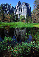 Cathedral Rock and reflection