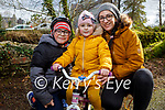 Enjoying a cycle in the Killarney National park on Friday, l to r: Jan, Suzanna and Monica Debska.