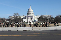 National Guard At The Capitol Ahead Of The 2021 Presidential Inauguration