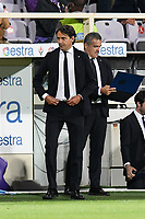 21nd September 2021; Artemio Franchi Stadium, Florence, Italy; Serie A championship football, AC Fiorentina versus Inter MIlan; Simone Inzaghi coach of FC Internazionale
