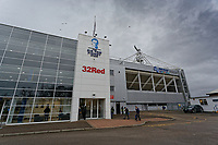 Exterior view of the stadium prior to the Sky Bet Championship match between Preston North End and Swansea City at Deepdale, Preston, England, UK. Saturday 12 January 2019