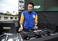"""PASADENA, CA - JUNE 7: DJ Spider at FX's """"A  TEACHER"""" FYC Drive-In Screening And Panel at the Rose Bowl on June 7, 2021 in Pasadena, California. (Photo by Frank Micelotta/FX/PictureGroup)"""