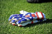 Boyds, MD - Saturday June 25, 2016: Washington Spirit gloves prior to a United States National Women's Soccer League (NWSL) match between the Washington Spirit and Sky Blue FC at Maureen Hendricks Field, Maryland SoccerPlex.