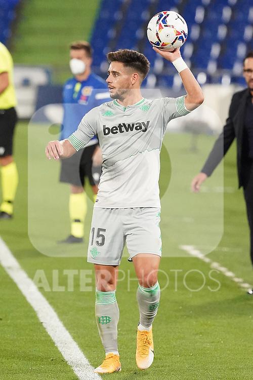 Real Betis Balompie's Alex Moreno during La Liga match. September 29,2020. (ALTERPHOTOS/Acero)