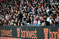 30th December 2020; Bankwest Stadium, Parramatta, New South Wales, Australia; A League Football, Western Sydney Wanderers versus Macarthur FC;  A decent crowd of over 10,000 fans attends the match during covid restrictions