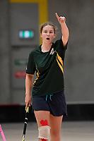 Floorball – NZSS Champs at ASB Sports Centre, Wellington, New Zealand on Sunday 28 March  2021. <br /> Photo by Masanori Udagawa. <br /> www.photowellington.photoshelter.com