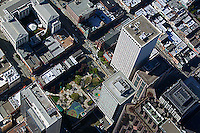 aerial photograph of Hartford Building and 650 California Street, San Francisco, California