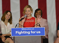 Elizabeth Banks @ the Women For Hillary Organizing Event held @ West Los Angeles College.<br /> June 3, 2016