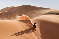 5th January 2021; Dakar Rally stage 3; 18 Branch Ross (bwa), Yamaha, Monster Energy Yamaha Rally Team, Moto, Bike, action during the 3rd stage of the Dakar 2021 between Wadi Al Dawasir and Wadi Al Dawasir, in Saudi Arabia on January 5, 2021