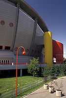 AJ3622, Calgary, Saddledome, Alberta, Canada, The Canadian Airlines Saddledome (home of the ice hockey team the Flames) in Stampede Park in Calgary in the province of Alberta.