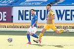 20.02.2021, xtgx, Fussball 3. Liga, FC Hansa Rostock - SV Waldhof Mannheim, v.l. Philip Tuerpitz (Rostock) am Ball<br /> <br /> (DFL/DFB REGULATIONS PROHIBIT ANY USE OF PHOTOGRAPHS as IMAGE SEQUENCES and/or QUASI-VIDEO)<br /> <br /> Foto © PIX-Sportfotos *** Foto ist honorarpflichtig! *** Auf Anfrage in hoeherer Qualitaet/Aufloesung. Belegexemplar erbeten. Veroeffentlichung ausschliesslich fuer journalistisch-publizistische Zwecke. For editorial use only.