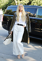 NEW YORK, NY- SEPTEMBER 10: Elisa Hosk seen at the NYFW S/S 2022 Michael Kors fashion show at Tavern On The Green in New York City on September 10, 2021. Credit: RW/MediaPunch<br /> CAP/MPI/RW<br /> ©RW/MPI/Capital Pictures