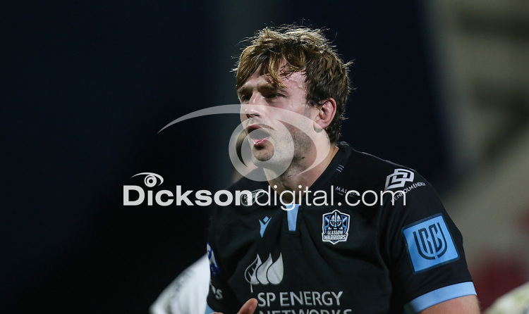 Friday 24th September 2021<br /> <br /> Richie Gray 3during the URC Round 1 clash between Ulster Rugby and Glasgow Warriors at Kingspan Stadium, Ravenhill Park, Belfast, Northern Ireland. Photo by John Dickson/Dicksondigital