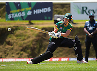 Central's Claudia Green bats during the women's Dream11 Super Smash T20 cricket match between the Central Hinds and Northern Spirit at Pukekura Park in New Plymouth, New Zealand on Wednesday, 30 December 2020. Photo: Dave Lintott / lintottphoto.co.nz