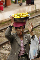 Train to Inle lake,,from Thazi ,Myanmar, 2018