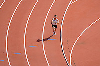 24 AUG 2008 - BEIJING, CHN - Dan Robinson (GBR) - Mens Marathon - Day Sixteen - Beijing Olympics. (PHOTO (C) NIGEL FARROW) *** IOC RULES APPLY ON USAGE ***