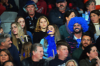 Fans in the grandstand during the Super Rugby Tran-Tasman final between the Blues and Highlanders at Eden Park in Auckland, New Zealand on Saturday, 19 June 2021. Photo: Dave Lintott / lintottphoto.co.nz
