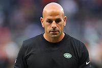 10th October 2021; Tottenham Hotspur stadium, London, England; NFL UK Series, Atlanta Falcons versus New York Jets:New York Jets head coach Robert Saleh