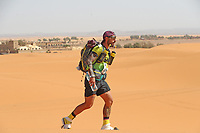 4th October 2021; Tisserdimine to Kourci Dial Zaid;  Marathon des Sables, stage 2 of  a six-day, 251 km ultramarathon, which is approximately the distance of six regular marathons. The longest single stage is 91 km long. This multiday race is held every year in southern Morocco, in the Sahara Desert. Antonio Marin (ESP)